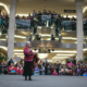 West Edmonton Mall Idle No More Rally - lady speaking